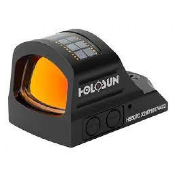 Mira Holográfica Led Vermelho Holosun Hs507c X2