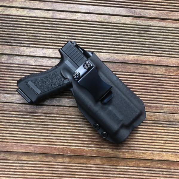 Coldre Glock G17/22+Tlr1 Preto