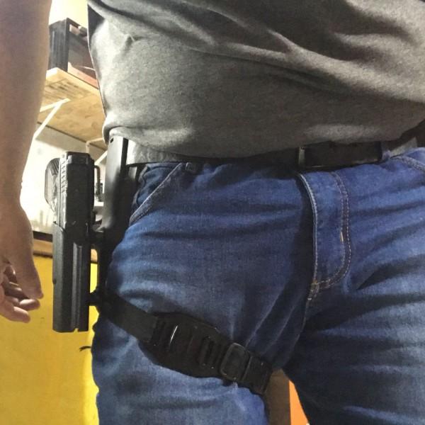 Coldre OWB Estilo Taco Glock.