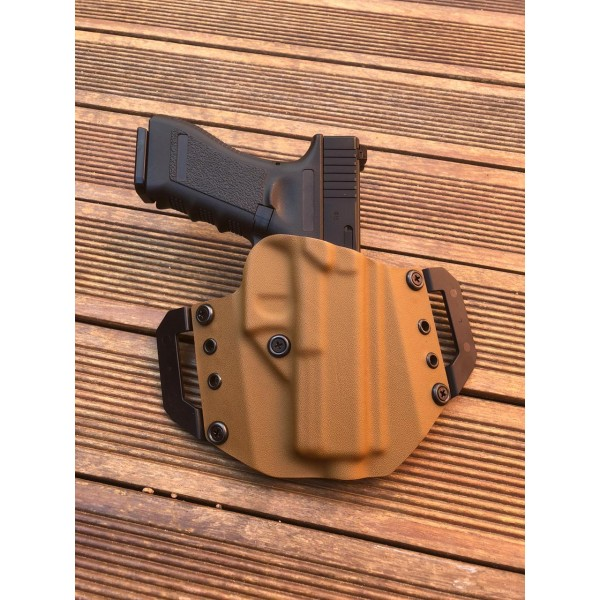 Coldre OWB Coyote Brown Glock G17/22 Destro.